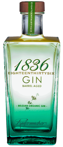 1836 ORGANIC BARREL AGED GIN  Eighteenthirtysix